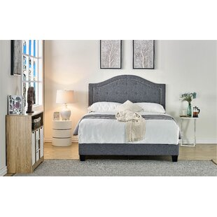 Lightner Upholstered Panel Bed by House of Hampton