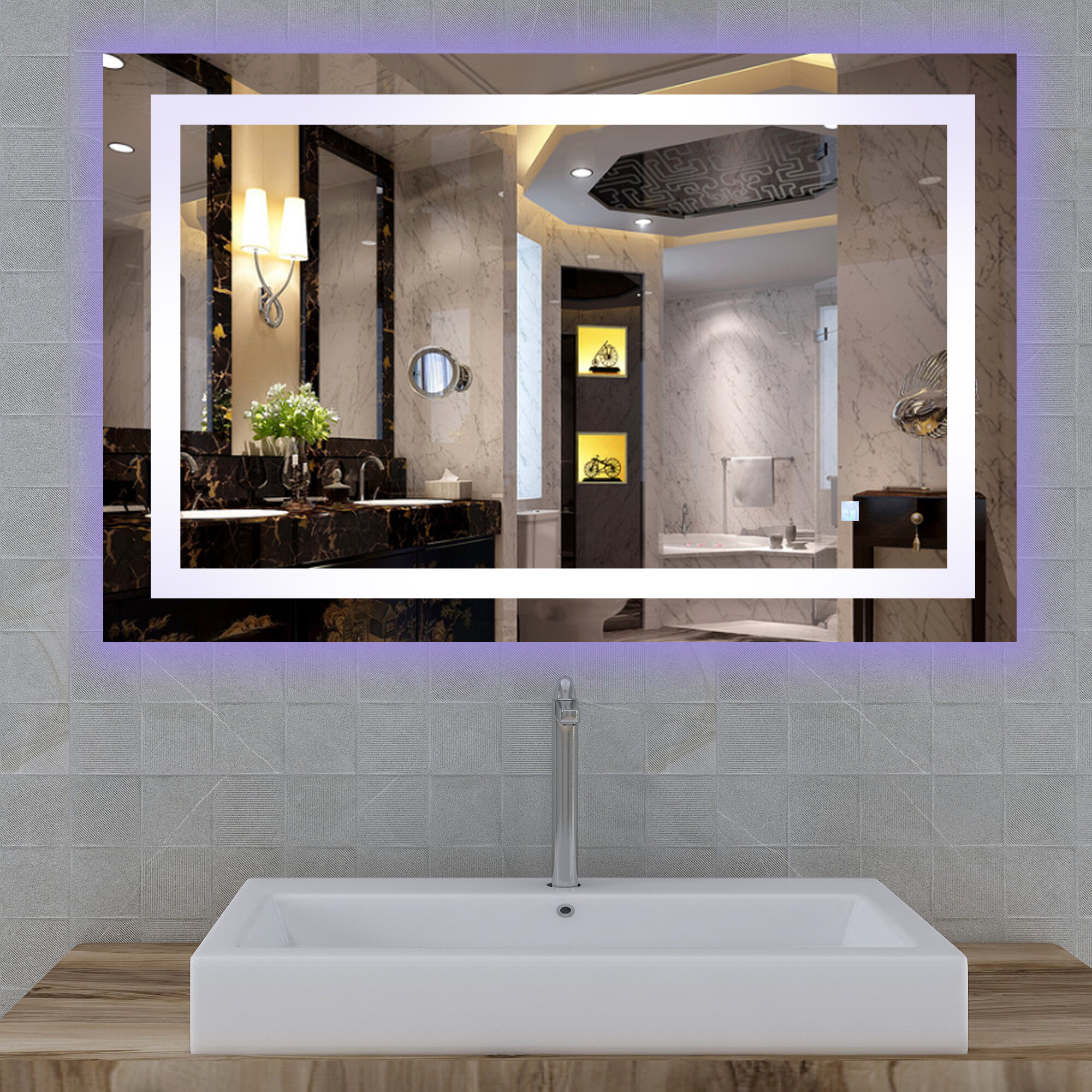 Sartori Lighted Bathroom/Vanity Mirror