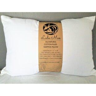 Organic Medium Cotton Bed Pillow