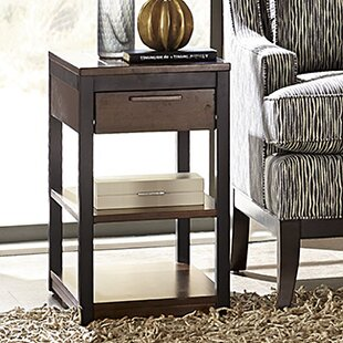 Brayden Studio Huntsberry Wood Top End Table