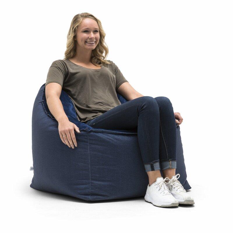 Peachy Big Joe Medium Bean Bag Chair Machost Co Dining Chair Design Ideas Machostcouk