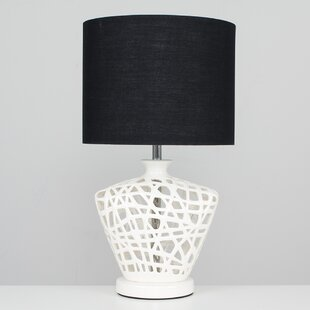 Table Lamps With Black Shades Wayfair Co Uk