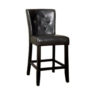 Anusha Contemporary Leather Upholstered D..