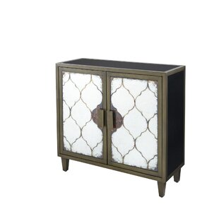 Weccacoe 2 Door Accent Cabinet by Bungalow Rose