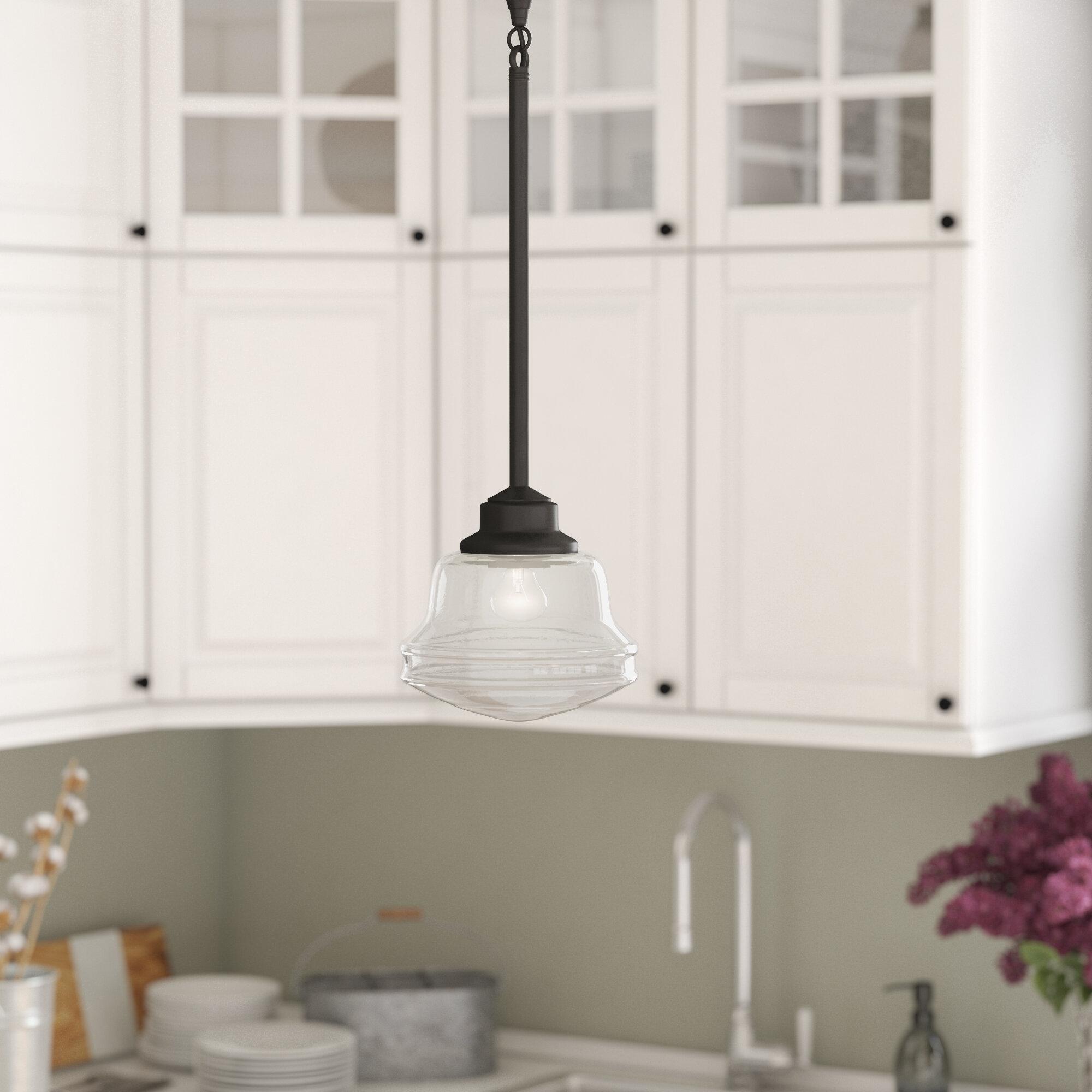 Beau Laurel Foundry Modern Farmhouse Margaree 1 Light Schoolhouse Pendant U0026  Reviews | Wayfair