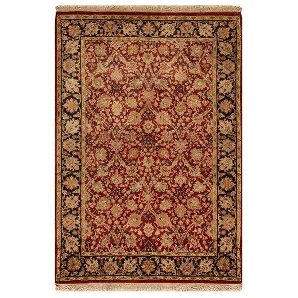 Bokara Rug Co Inc Oriental Hand Knotted Wool Red Beige Area Rug Perigold