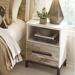 Gracie Oaks Marston 1 Drawer Night Stand