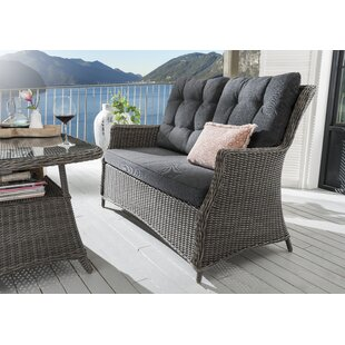 Nokomis Garden Sofa With Cushions Image