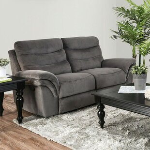 Helgeson Transitional Love Seat Manual Wall Hugger Recliner by Red Barrel Studio