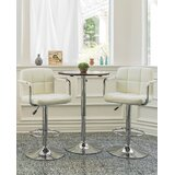 Wolbert Direct Adjustable Height Swivel Barstool (Set of 2) by Orren Ellis