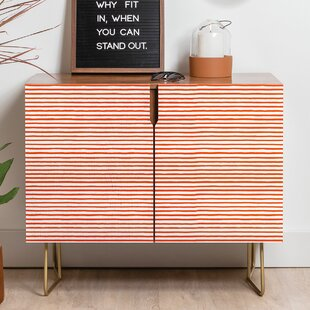 Ninola Marker Stripes Sideboard by East Urban Home