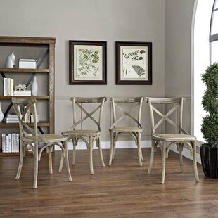 Gage Dining Chair (Set of 4) Laurel Foundry Modern Farmhouse
