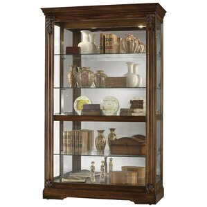Ramsdell Lighted Curio Cabinet by Howard Miller?