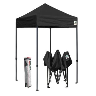 Commercial 5 Ft. W x 5 Ft. D Steel Pop-Up Canopy by Eurmax