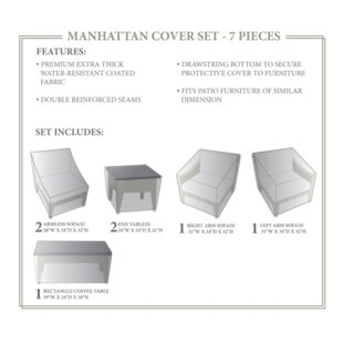 TK Classics Manhattan Winter 7 Piece Cove..