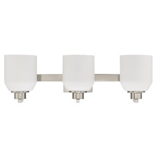 Compare prices Quartz 3-Light Vanity Light By Sunset Lighting