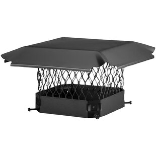 Single-Flue Galvanized Bolt-On Chimney Cap By HY-C