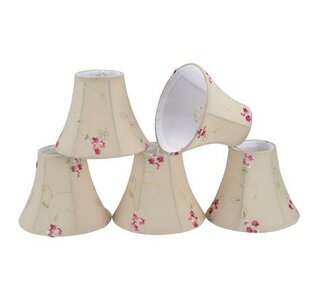6 Cotton Bell Lamp Shade (Set of 5)