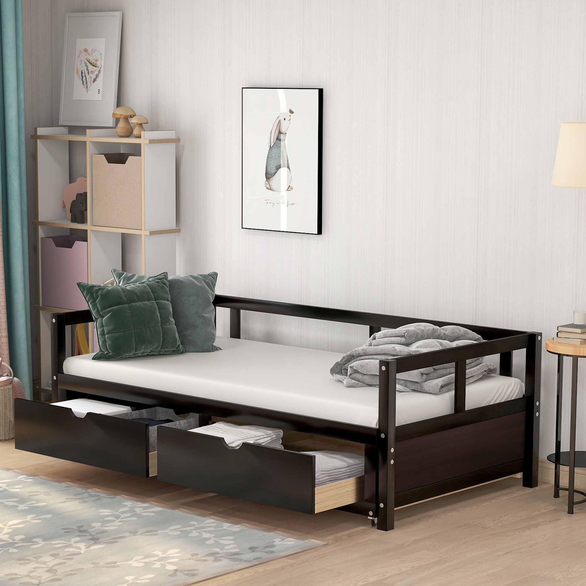 Red Barrel Studio Candance Daybed With Trundle Wayfair