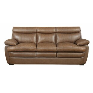 Millwood Leather Sofa