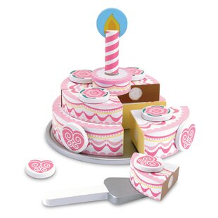 Triple-Layer Party Cake Play Food by Melissa & Doug