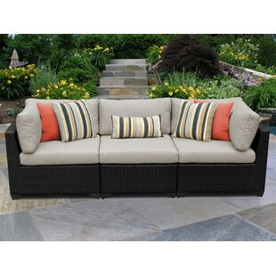 Meier Patio Sofa with Cushions