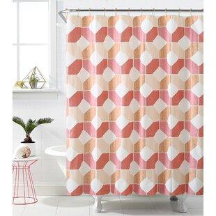 Online Reviews Rockport Hexagonal Heaven Shower Curtain ByGeorge Oliver