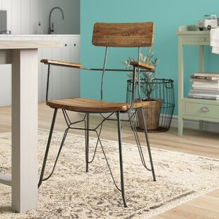 Lilburn Solid Wood Dining Armchair By Williston Forge