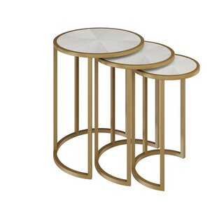 Greta 3 Piece Nesting Tables by Allan Copley Designs