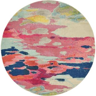 Andrei Pink Area Rug by Turn on the Brights