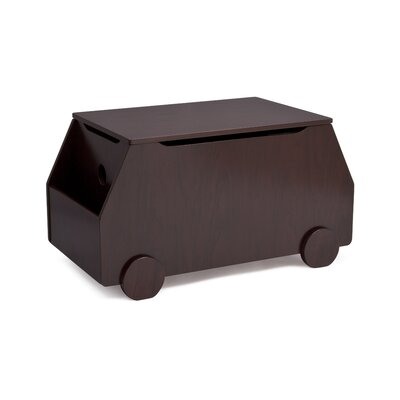 Mack & Milo Alamogordo Toy Box Finish: Black Cherry Espresso