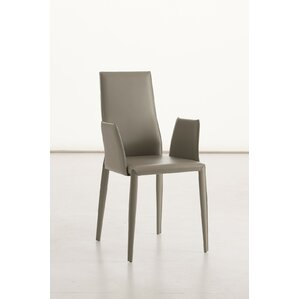 Data B Genuine Leather Dining Chair by YumanMod