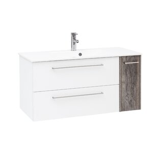 Mccay 1020mm Wall Hung Single Vanity Unit By Mercury Row