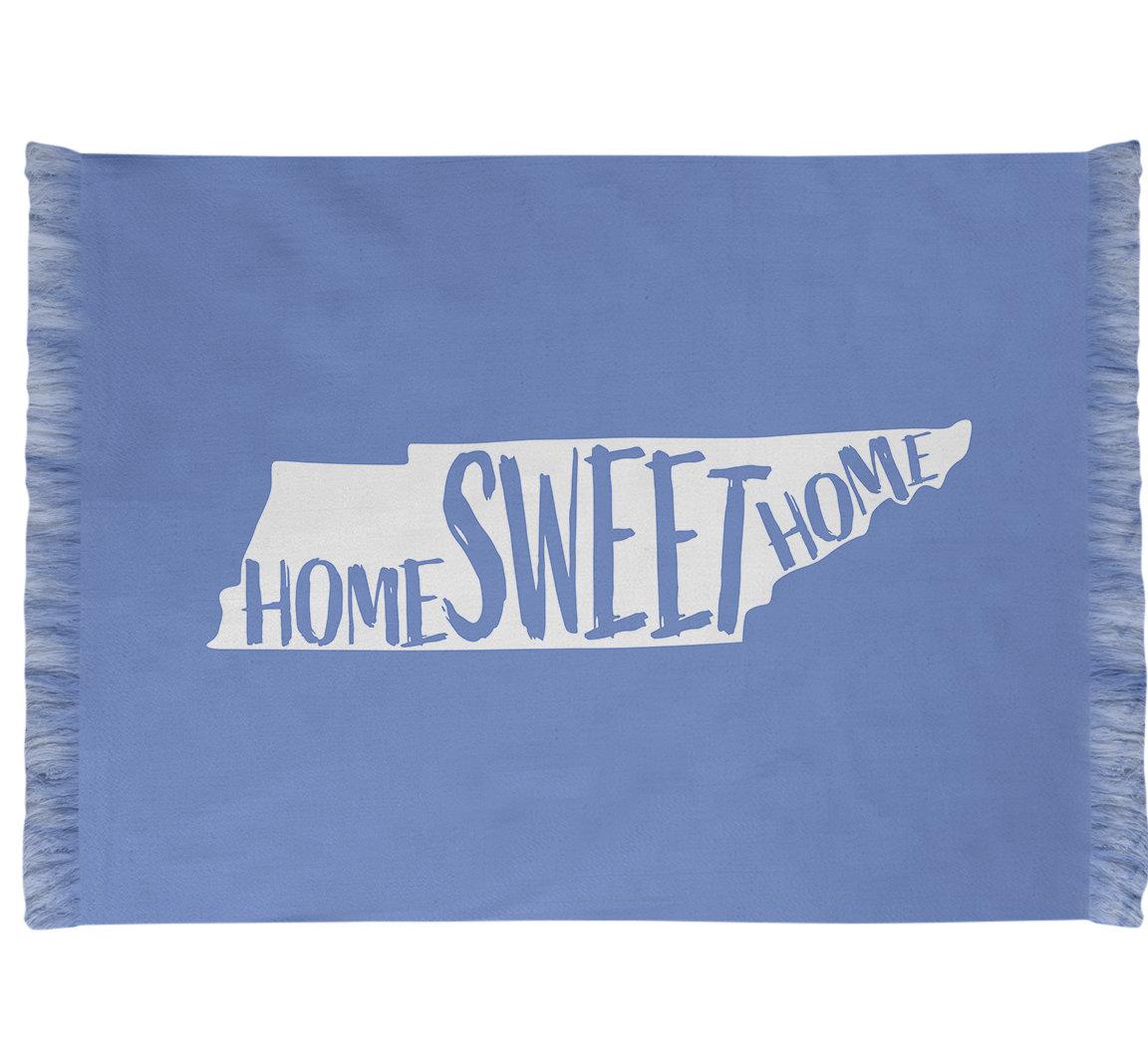 East Urban Home Home Sweet Tennessee Blue Area Rug Wayfair