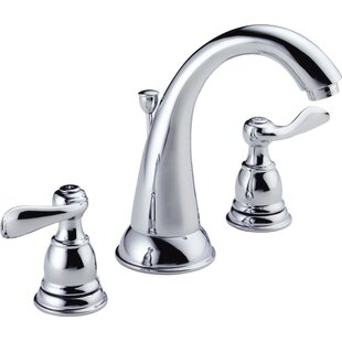 Delta Windemere Widespread Bathroom Faucet with Drain Assembly