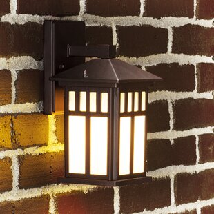 Charlton Home Wetherby LED Outdoor Wall Lantern