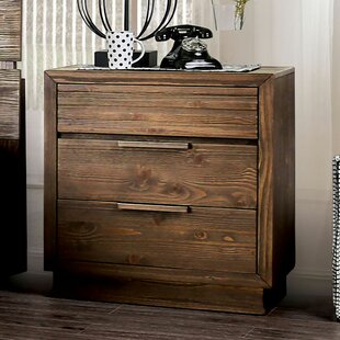 Buffington 3 Drawer Nightstand by Loon Peak