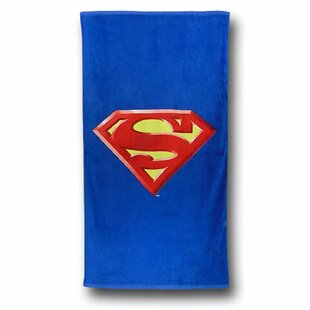 Superman Shield 100% Cotton Beach Towel