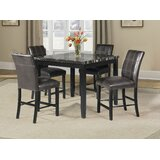 Alcester 5 Piece Counter Height Dining Set by Latitude Run®