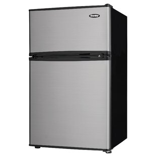Glass door refrigerator wayfair two door compact 32 cu ft compactmini refrigerator with freezer planetlyrics Gallery