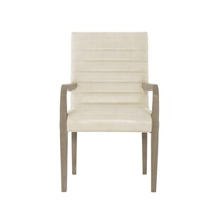 Mosaic Genuine Leather Upholstered Dining Chair (Set of 2)