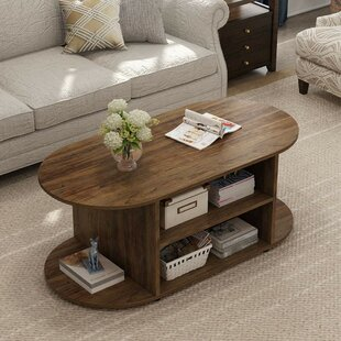 Welling Vintage Oval Coffee Table
