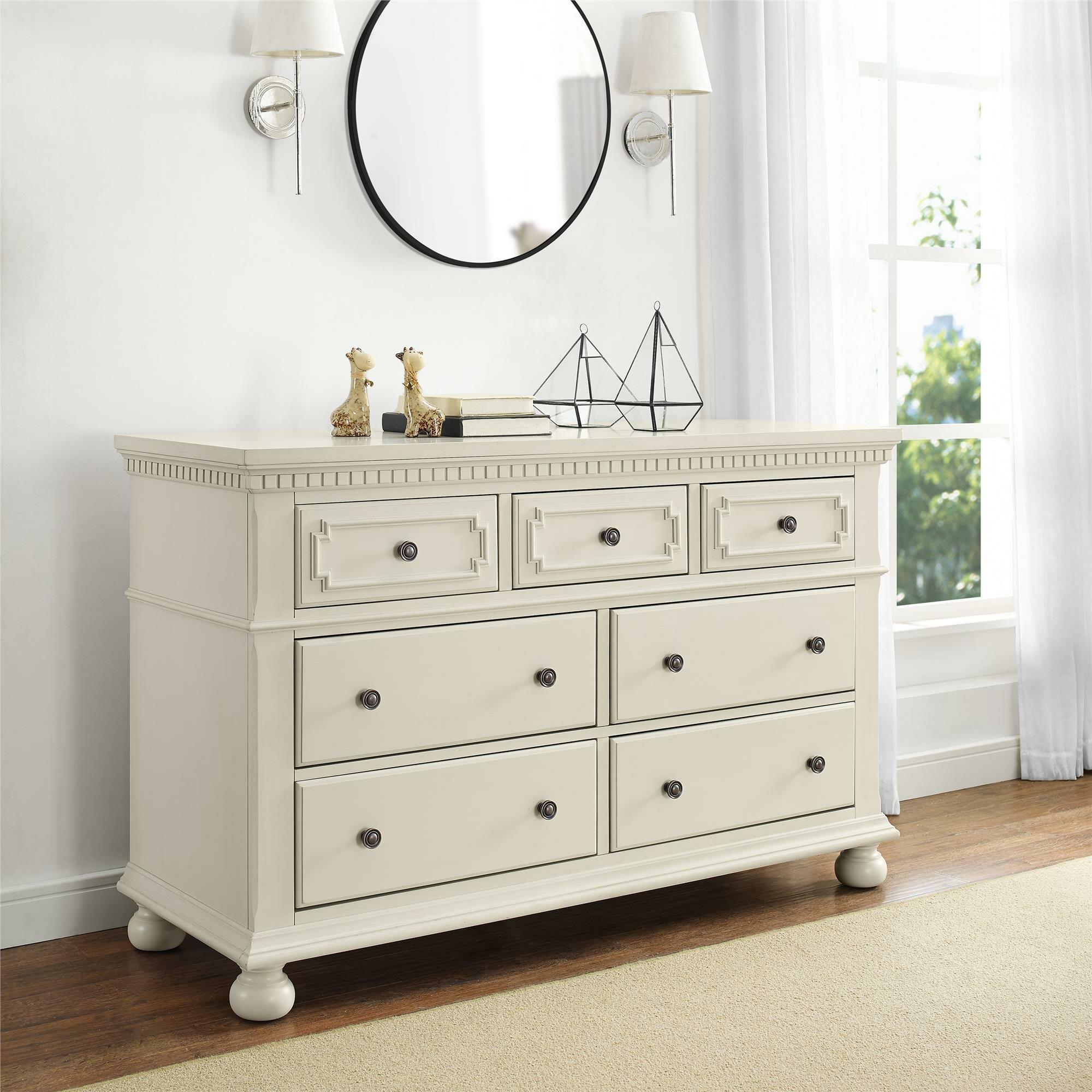 Vernay 7 Drawer Double Dresser