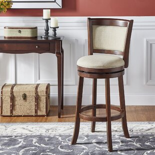 Leda 29 Swivel Bar Stool by Andover Mills