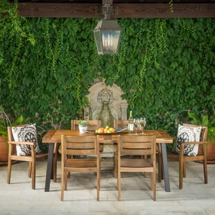 Adair Outdoor 7 Piece Dining Set by Union Rustic
