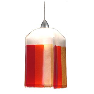 Metro Fusion Litesavers Draped 1-Light Square/Rectangle Pendant by Meyda Tiffany