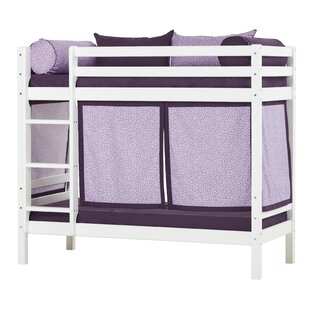 Basic Beautiful Bloom Bunk Bed With Curtain By Hoppekids