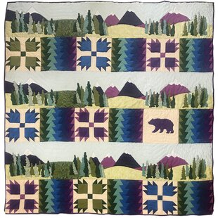 Millwood Pines Amber Purple Majesty Quilt