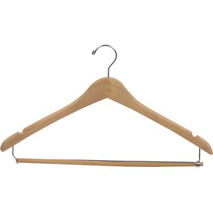 Looking for Curved Suit Hanger with Locking Pant Bar (Set of 50) By Rebrilliant