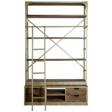 Ira 96 H x 60 W Metal Library Bookcase by Trent Austin Design®